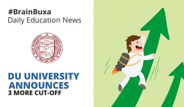 Image of DU university announces 3 more cut-offs | Education News Photo