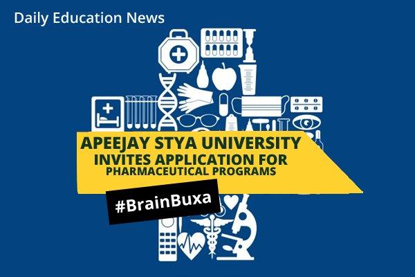 Image of Apeejay Stya University invites application for Pharmaceutical Programs | Education News Photo