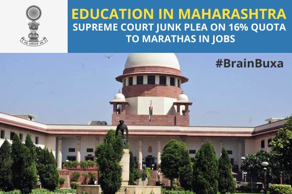 Image of Education in Maharashtra: Supreme court junk plea on 16% quota to Marathas in jobs | Education News Photo