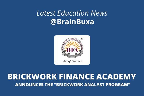 "Image of Brickwork Finance Academy Announces the ""Brickwork Analyst Program"" | Education News Photo"