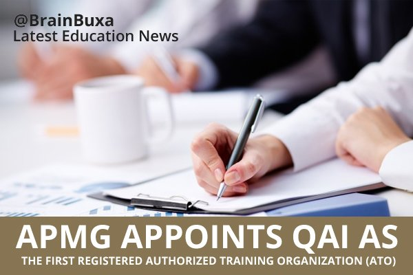 Image of APMG Appoints QAI as the First Registered Authorized Training Organization (ATO) | Education News Photo