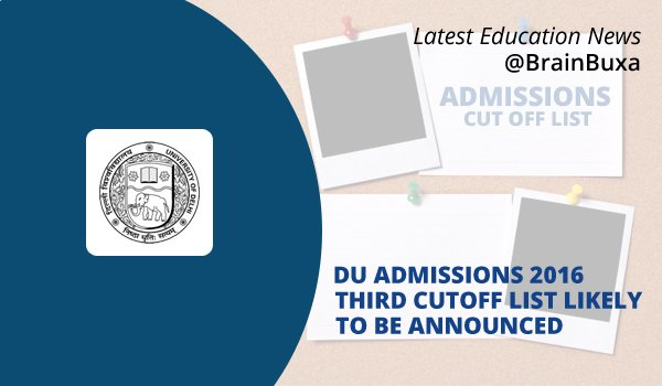 Image of DU Admissions 2016: Third Cut off List Likely To Be Announced | Education News Photo
