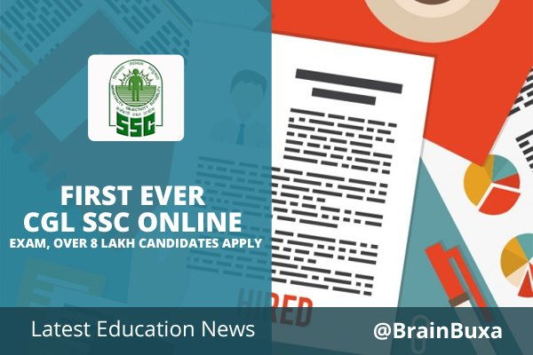 Image of First Ever CGL SSC Online Exam, Over 8 Lakh Candidates Apply | Education News Photo