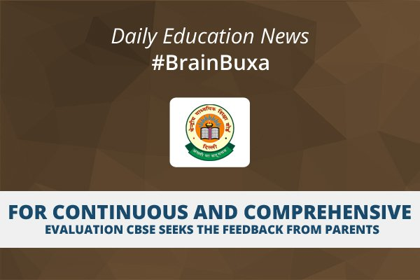 Image of For continuous and comprehensive evaluation CBSE seeks the feedback from parents   Education News Photo