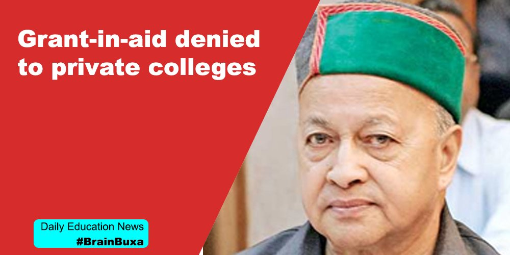 Grant-in-aid denied to private colleges