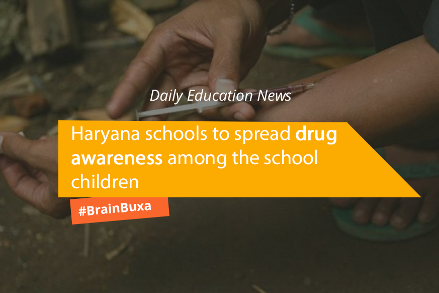Image of Haryana schools to spread drug awareness among the school children | Education News Photo