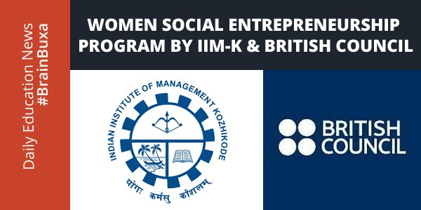 Image of Women Social Entrepreneurship program by IIM-K & British Council | Education News Photo