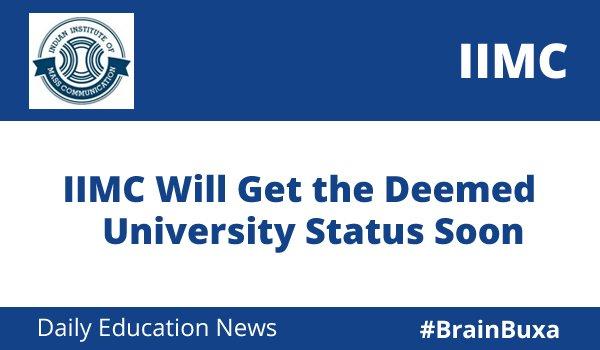 Image of IIMC Will Get the Deemed University Status Soon   Education News Photo
