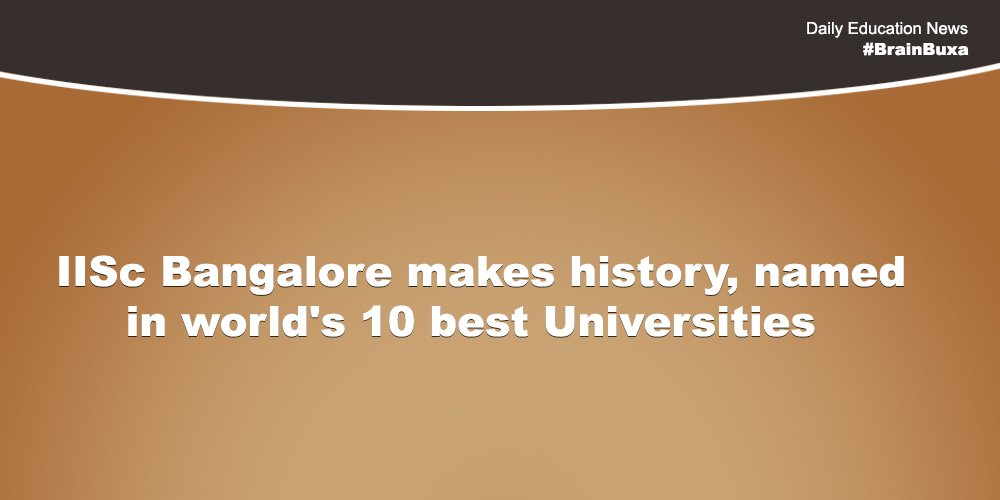 Image of IISc Bangalore makes history, named in world's 10 best Universities | Education News Photo