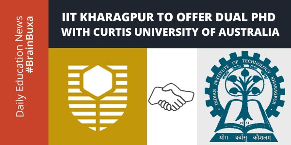 Image of IIT Kharagpur to offer dual PhD with Curtis University of Australia | Education News Photo