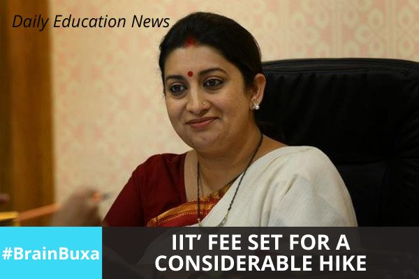 Image of IITs' fee set for a considerable hike | Education News Photo