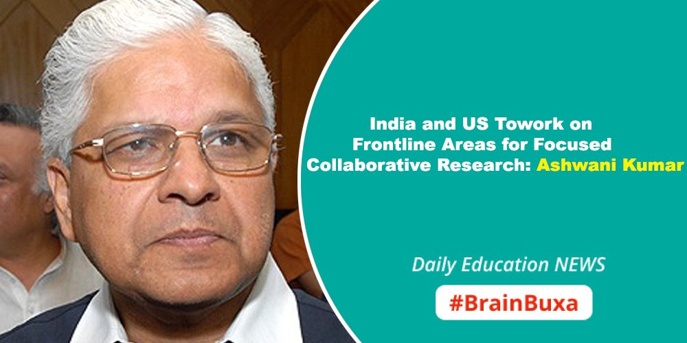 Image of India and US Towork on Frontline Areas for Focused Collaborative Research: Ashwani Kumar  | Education News Photo