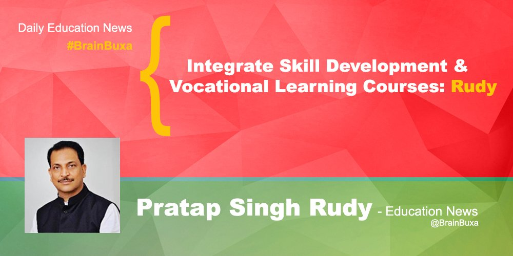 Image of Integrate Skill Development & Vocational Learning Courses: Rudy | Education News Photo