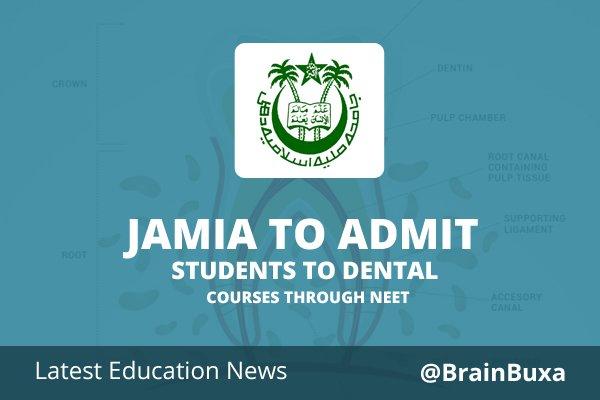 Image of Jamia to admit students to Dental courses through NEET | Education News Photo