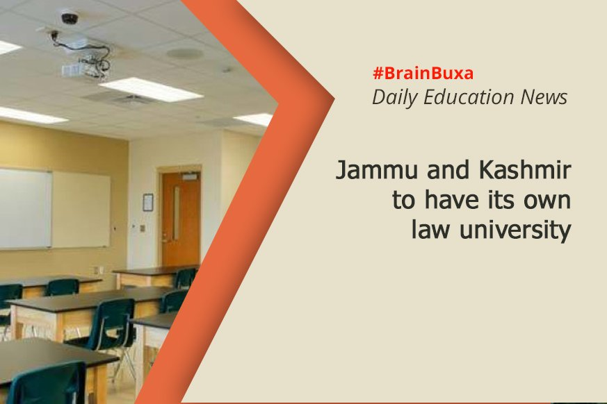 Jammu and Kashmir to have its own law university