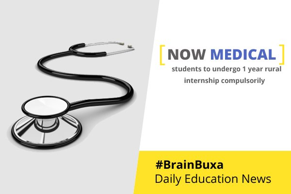Image of Now medical students to undergo 1 year rural internship compulsorily | Education News Photo