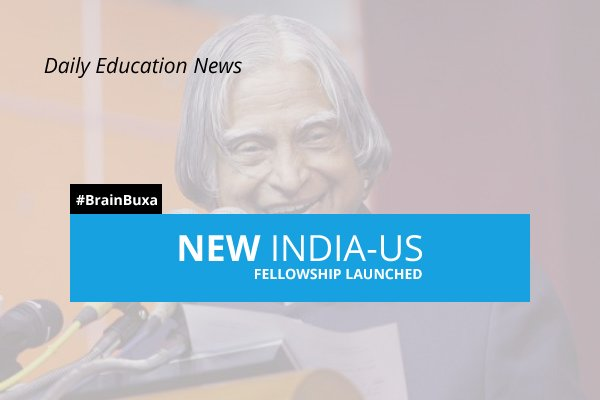New India-US Fellowship launched
