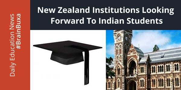 Image of New Zealand institutions looking forward to Indian students   Education News Photo