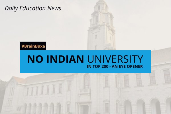 Image of No Indian university in top 200 - An eye opener | Education News Photo