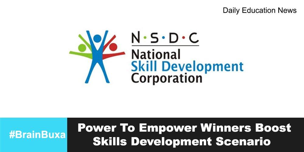 Power To Empower Winners Boost Skills Development Scenario