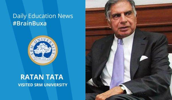 Ratan Tata visited SRM University