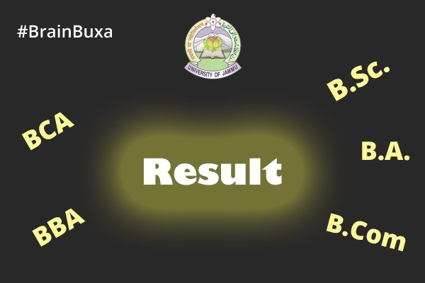 Result of BA BSc B.Com Part II Regular/ Private Exam 2016 of Jammu University is Available