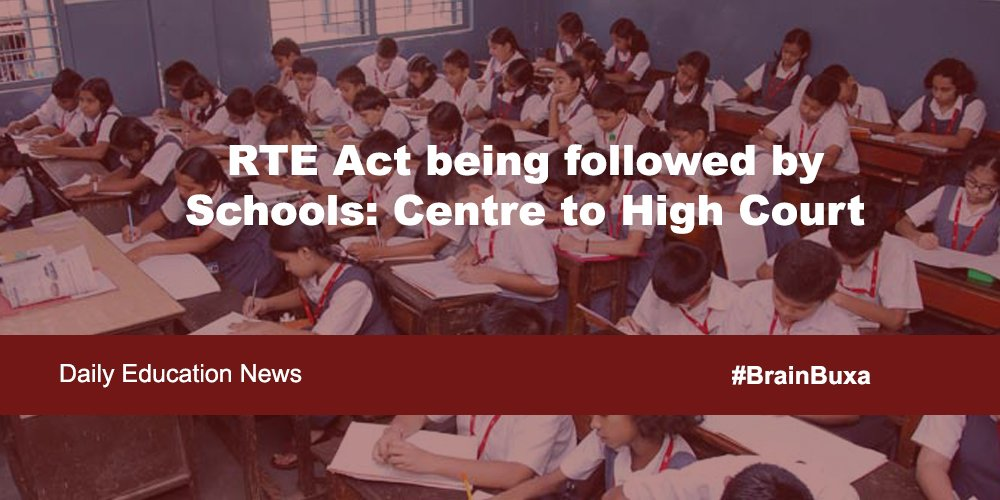 Image of RTE Act being followed by Schools: Centre to High Court | Education News Photo