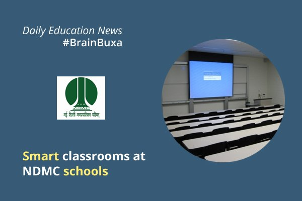 Image of Smart classrooms at NDMC schools | Education News Photo
