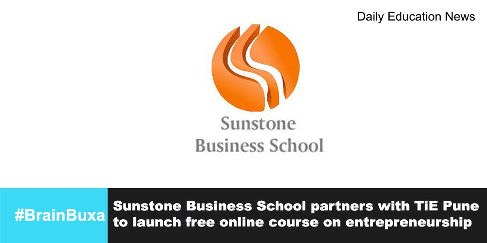 Sunstone Business School partners with TiE Pune to launch free online course on entrepreneurship