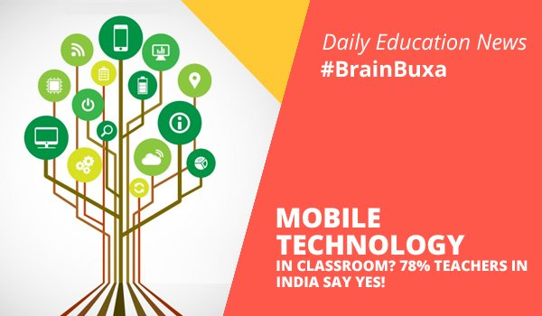 Image of Mobile technology in classroom? 78% teachers in India say yes! | Education News Photo