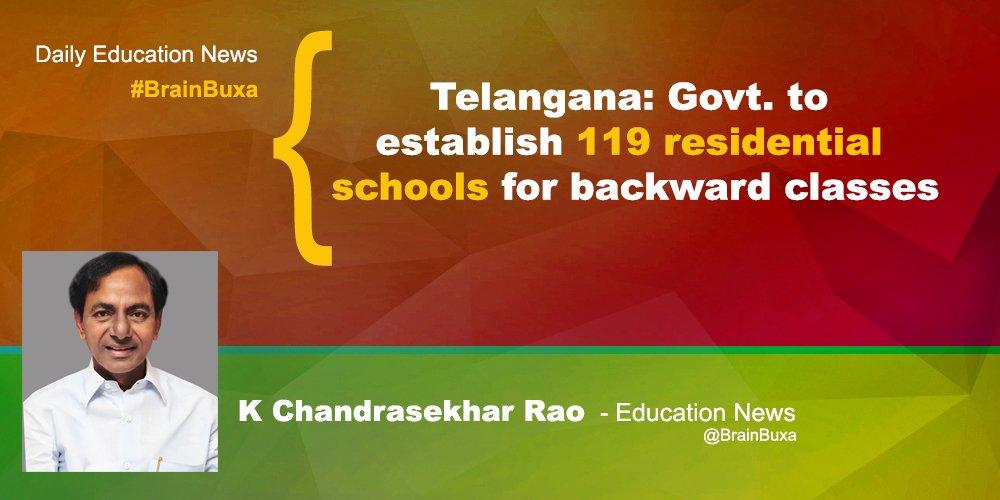 Image of Telangana: Govt. to establish 119 residential schools for backward classes | Education News Photo