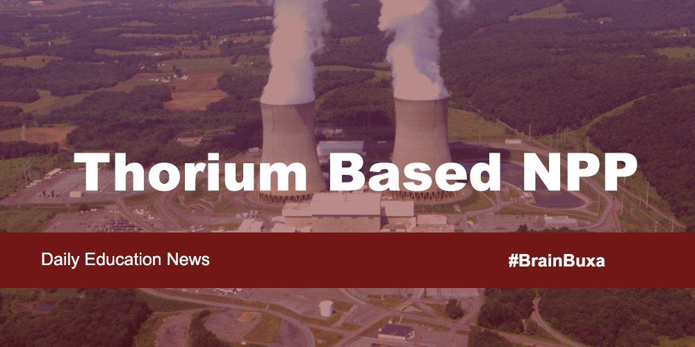 Image of Thorium Based NPP | Education News Photo
