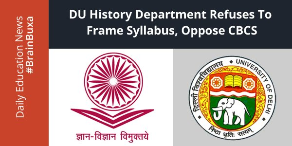 Image of DU History department refuses to frame syllabus, oppose CBCS | Education News Photo