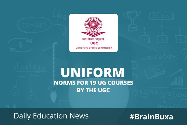 Image of Uniform norms for 19 UG courses by the UGC | Education News Photo