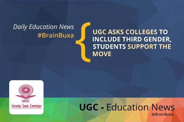 Image of UGC asks colleges to include third gender, students support the move   Education News Photo