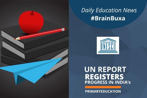 UN report registers progress in India's primary education