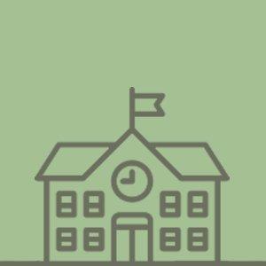 Lourde Mount School Logo