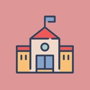 The Chanda Devi Saraf School Logo