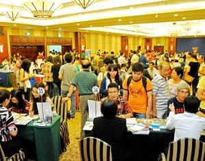 American universities at Kolkata education fair