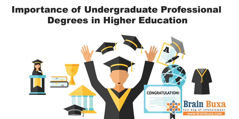 Importance of Undergraduate Professional  Degrees in Higher Education