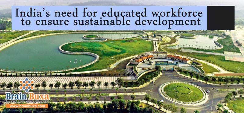Image of India's need for educated workforce to ensure sustainable development | Education Blog Photo
