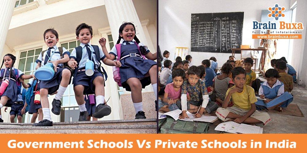 Government Schools Vs Private Schools in India