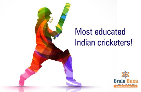 And here are the most educated Indian cricketers!