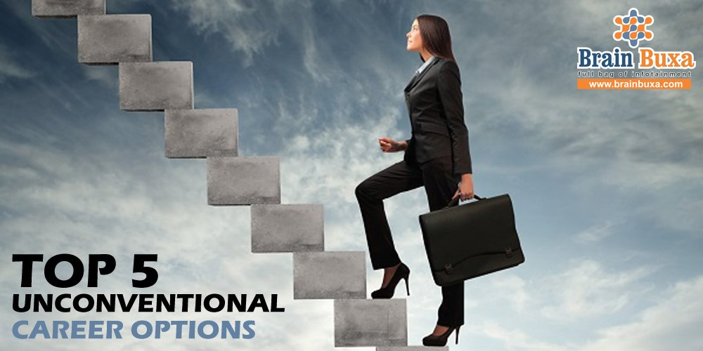 Top 5 unconventional career options