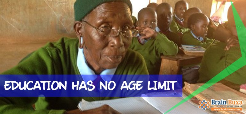 Education Has No Age Limit