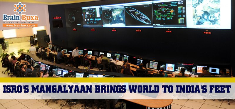 ISRO's Mangalyaan brings World to India's feet