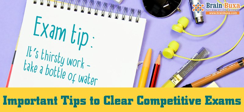 Important Tips to Clear Competitive Exams