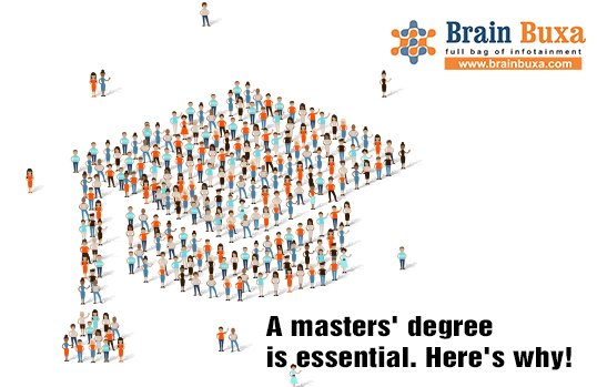 Image of A masters' degree is essential. Here's why!   Education Blog Photo