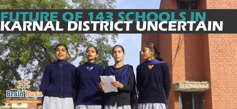 Future of 143 schools in Karnal district uncertain