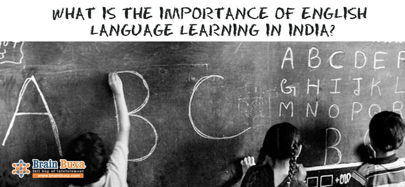 What is the Importance of English language learning in India?